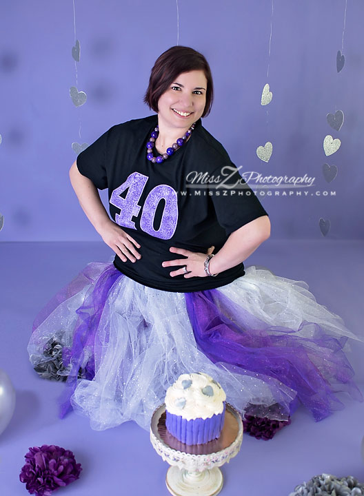 Enjoyable New Bedford Photographer Has Her Own Smash Cake Session For 40Th Birthday Cards Printable Inklcafe Filternl
