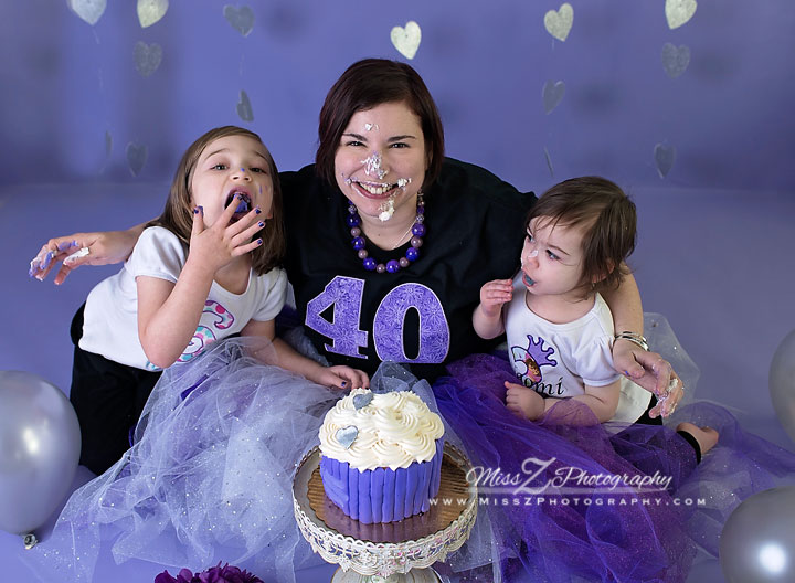 New Bedford Photographer Has Her Own Smash Cake Session For 40th