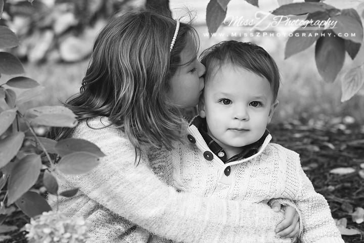 Children's kisses