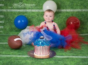 Baby and Patriots outfit