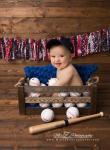 8. It's never too early to have a favorite baseball team - Go Red Sox!