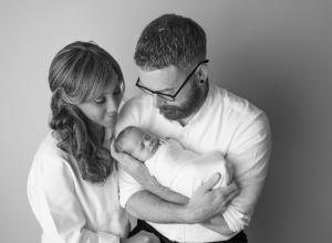 Comforting-newborn